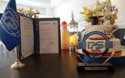 FUBA: ISO 45001 officially awarded