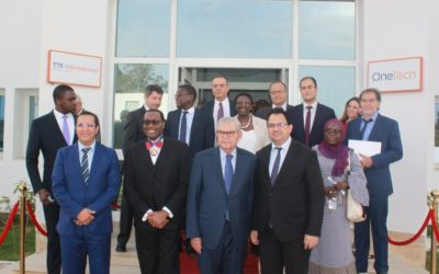 The OneTech Group receives the President of the African Development Bank